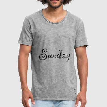 Sunday Sunday - Men's Vintage T-Shirt