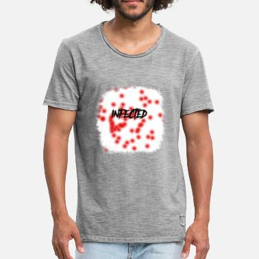 Infection infected - Men's Vintage T-Shirt