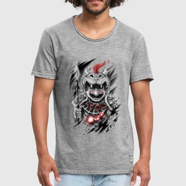 Wild Warrior - Mannen Vintage T-shirt
