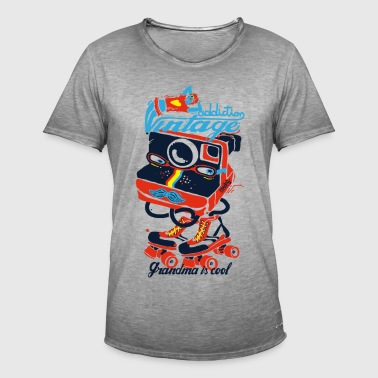 Retro photo addiction - Men's Vintage T-Shirt