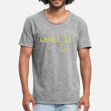 Een Level Level 33 - Mannen Vintage T-shirt