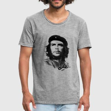 Che Guevara Signature - Herre vintage T-shirt