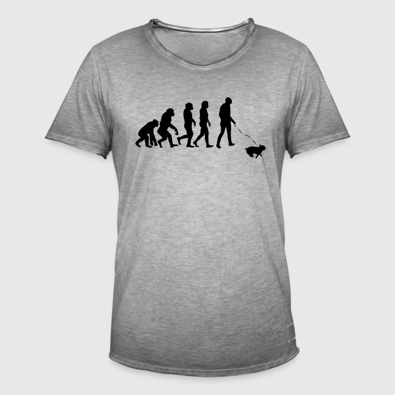 ++ ++ Dog owners Evolution - Men's Vintage T-Shirt