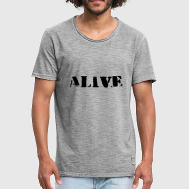 Pearl Jam ALIVE - still alive after all these years - Männer Vintage T-Shirt