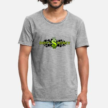 Dirty Money DIrty Money - Rich Dollars - Men's Vintage T-Shirt