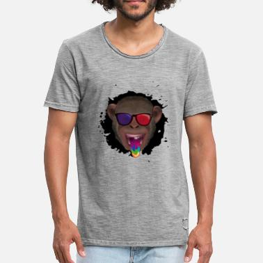 Monkey 3d 3d monkey - Men's Vintage T-Shirt