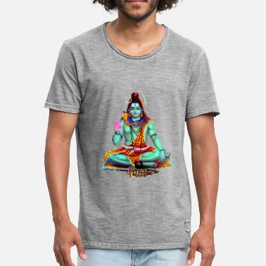 Shiva Meditation shiva - Men's Vintage T-Shirt
