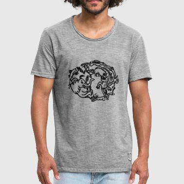 Nightmares after the ZOO visit - Men's Vintage T-Shirt