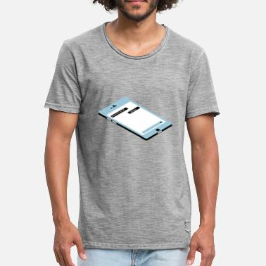 Isometric Isometric phone - Men's Vintage T-Shirt