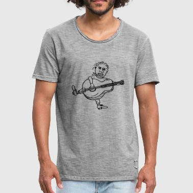 Joey Guitare - T-shirt vintage Homme