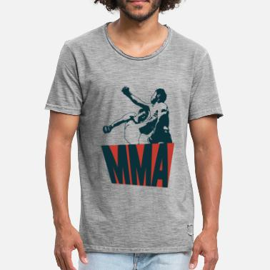 Mma Mixed Martial Arts - Mannen Vintage T-shirt