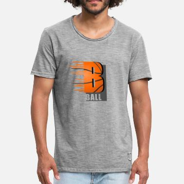 B Ball B ball - Men's Vintage T-Shirt