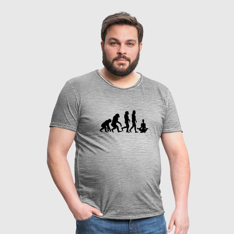 ++ ++ YOGA EVOLUTION - Men's Vintage T-Shirt