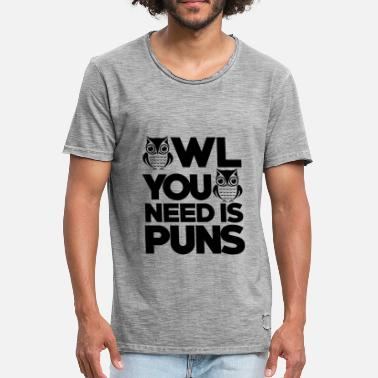 Neea All you need is Pun's gift - Men's Vintage T-Shirt