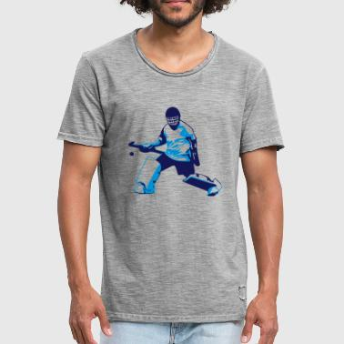 Hockey goalie - Men's Vintage T-Shirt