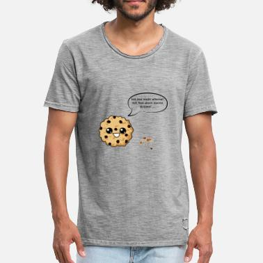 Crumb Biscuit with crumbs - Men's Vintage T-Shirt