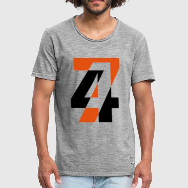 Fourty Fourty seven - Men's Vintage T-Shirt