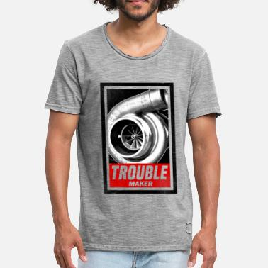 Trouble Maker TROUBLE MAKER - Men's Vintage T-Shirt