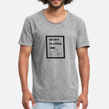 ready player one - Men's Vintage T-Shirt