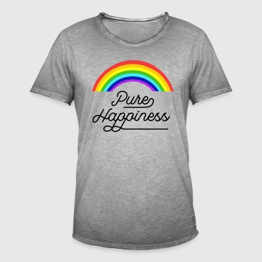 Pure happiness  - Mannen Vintage T-shirt