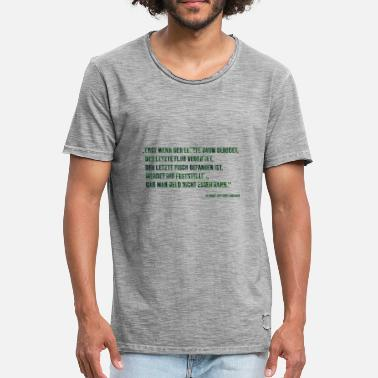 Organisation environmental Protection - Men's Vintage T-Shirt
