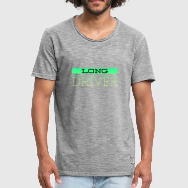 conducteur long - T-shirt vintage Homme