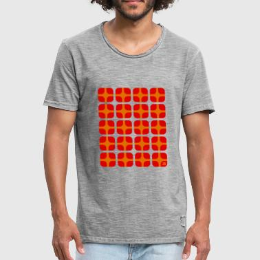 70s Jahrgang rounded boxes 70s - Männer Vintage T-Shirt