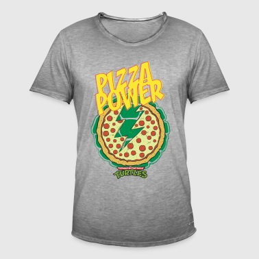 Tortues Ninja Pizza Power Carapace - T-shirt vintage Homme