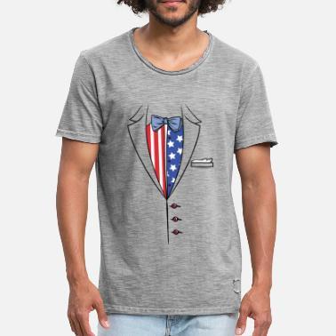 c8ff9e921ff16 Garnitur - Muszka - Formalna - Ameryka - Koszulka męska vintage