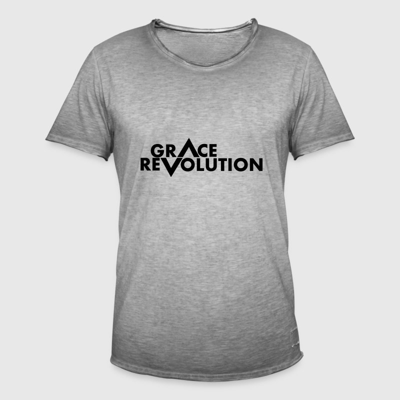 Grace Revolution - Revolution Grace - Men's Vintage T-Shirt