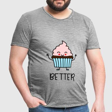 Better Together 1 Muffin coordonnés pour le couple - T-shirt vintage Homme