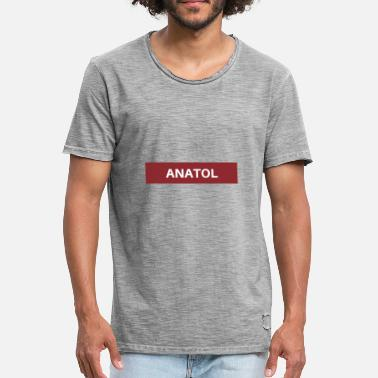 Anatolie Anatol - T-shirt vintage Homme