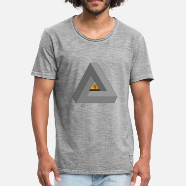 b609ad2b8daf2 Triángulo Swag Árbol en Triángulo del inconformista - Camiseta vintage  hombre