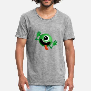 Alien X Alien - Men's Vintage T-Shirt