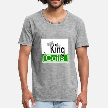 Coil The King of Coils - Men's Vintage T-Shirt