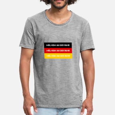 Ruhr City CITY CITY OF RUHR, GERMANY - Men's Vintage T-Shirt