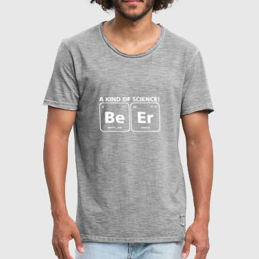 Beer / Beer Periodic Table Element Science - Men's Vintage T-Shirt