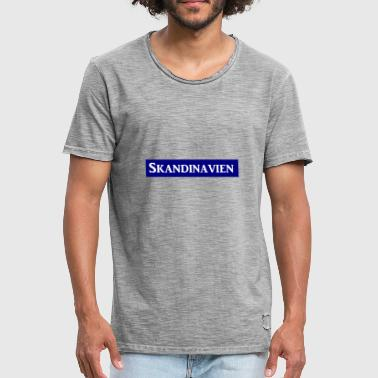Scandinavia - Men's Vintage T-Shirt