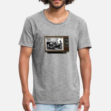 Emission Tv TV @ the TV - T-shirt vintage Homme
