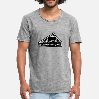 Forhæng Dumbass land - Herre vintage T-shirt