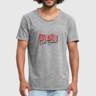 Avenue Happiness Shirt • Funny Quote • Avenue Gifts - Herre vintage T-shirt