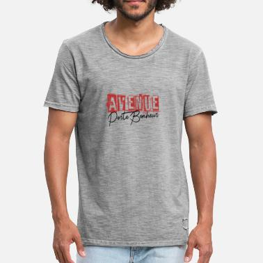 Avenue Happiness Shirt • Funny Quote • Avenue Gifts - Vintage-T-skjorte for menn
