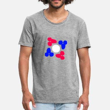 Reds Penis Penis penises Beautiful red and blue white - Men's Vintage T-Shirt
