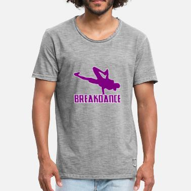 Streetdance Breakdance Breakdancer Breakdancing Streetdance - Vintage-T-skjorte for menn
