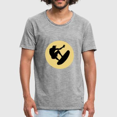 Logoer Sports surf cool sport logoen - Vintage-T-skjorte for menn
