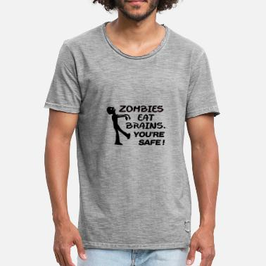 Zombie zombies - T-shirt vintage Homme