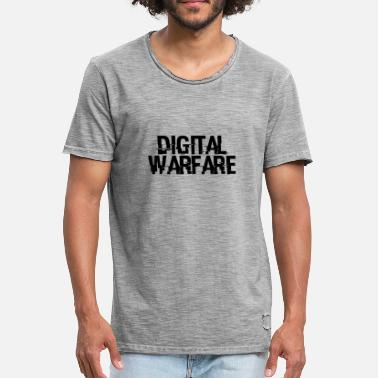 Warfare Digital Warfare - Men's Vintage T-Shirt