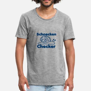 Check vérifier Checker - T-shirt vintage Homme