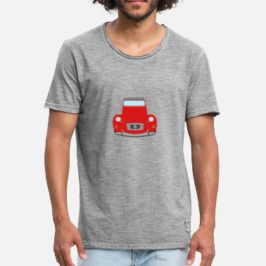 2cv 2cv red - Men's Vintage T-Shirt