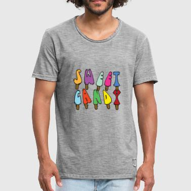 Sweet candy - Men's Vintage T-Shirt